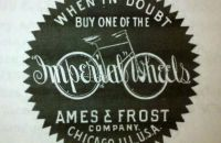 """Imperial"" Ames & Frost Company, Chicago, USA - 1893"