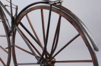 Boneshaker with mudguards, Manufacturer unknown, France – 1870