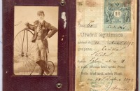Original photographs with a beautiful Kohout bicycles