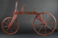Hobby horse, copy manufactured according to an original made in Bohemia and currently stored in the Western Bohemia Museum in Plzeň