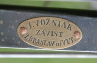 The Závist high-wheel bicycle
