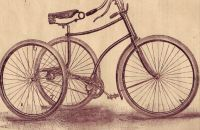 Marlborough Club tricycle, Coventry Machinists Co., England – after a year 1890