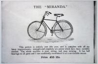 Ajax & Miranda Cycles 1892