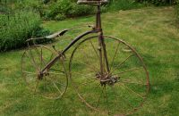 Steel velocipede c.1870