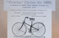 PYSCHO, Capital Cycle Co. 1889