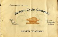 Badger Cycle Company 1894