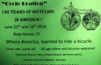"""Cycle-Bration"" - 150 years of bicycling in America"