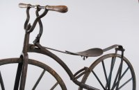 Boneshaker, blacksmith production, France – around 1870