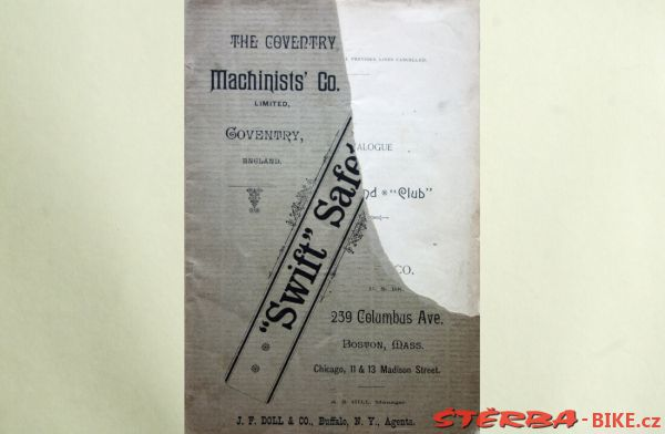 Coventry Machinists Co.  – 1891