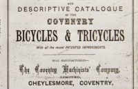 Coventry Machinists Co.  – 1878