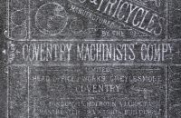 Coventry Machinists Co.  – 1882