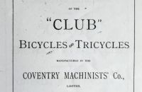Coventry Machinists Co.  – 1887