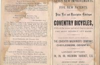 Coventry Machinists Co.  – 1876