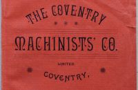 Coventry Machinists Co.  – 1890