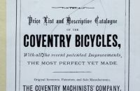 Coventry Machinists Co.  – 1877