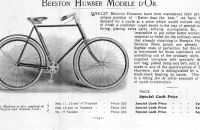HUMBER & Co.Ltd., London, Beeston Humber Modele D´OR - 1899