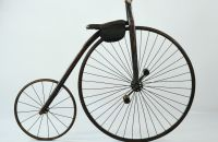Child´s wooden High Wheel bicycle, USA – c.1885
