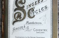 "Singer & Co., ""Challenge - Miniature"", Anglie 1887"