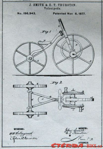 Smith J. & Thurston E.T. patent