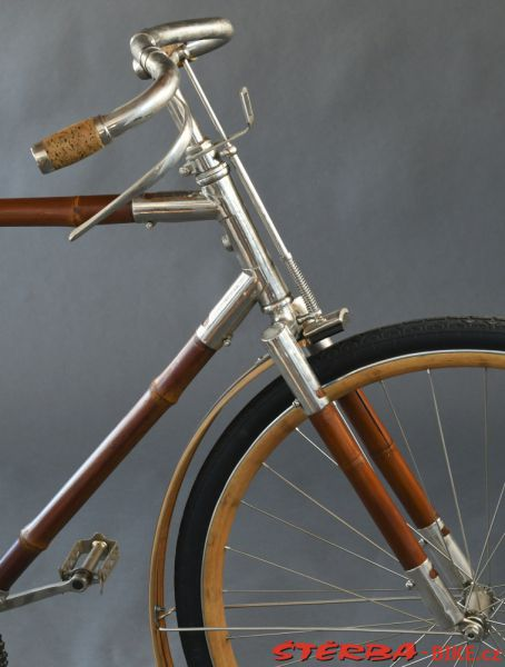Bamboo Cycle Co., Anglie cca 1898-1900