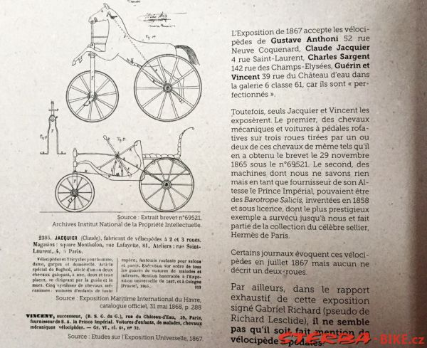 Aux sources de la bicyclette