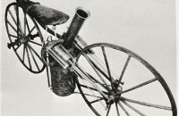 Roper steam velocipede