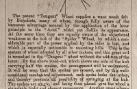 """Tangent"" - Haynes & Jefferis, Ariel Works, Anglie 1878"