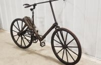 1904 St. Louis World's Fair Wooden Bicycle