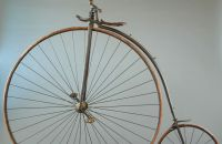 High wheel with suspension, France - around 1876