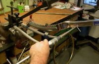 Procedure in production of the frame - part 1