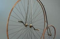 High wheel with suspension, Manufacturer unknown, France - around 1876