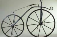 Boneshaker, black smith production, Manufacturer unknown - around 1869