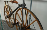 Boneshaker, around 1870