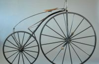 Boneshaker with freewheel - A.Boeuf, France (System NICOLET), 1869