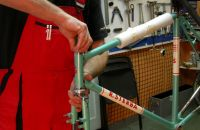 Procedure in production of the frame - part 4