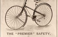 """Premier"" safety, Hillman, Herbert & Cooper, Coventry, England - 1886"