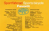 Catalogue MOTOKOV - Favorit